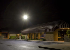 LED Area Lighting at Brown Road Corporate Center