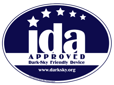 Dark-Sky IDA Approved LED Lights