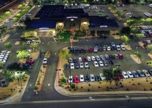 Horne Ford LED Parking Lot Lighting