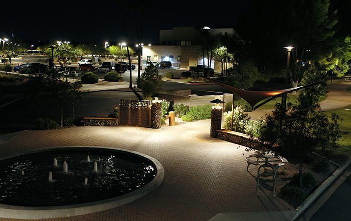 Municipal LED Lighting in Fountain Hills, AZ